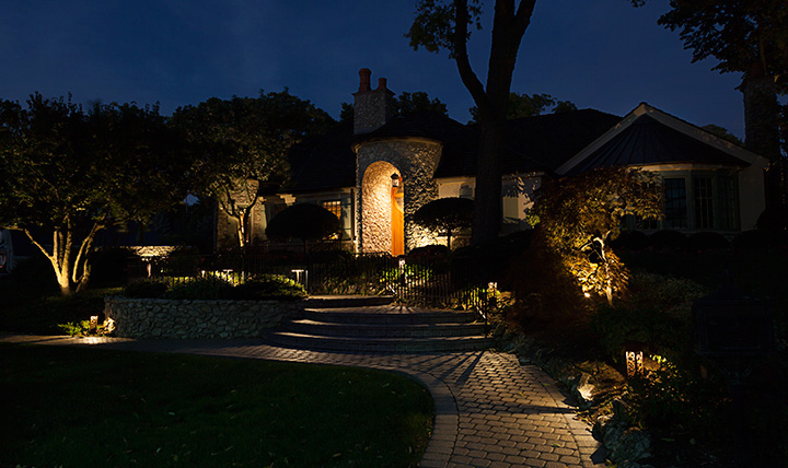 landscape lighting catawba island